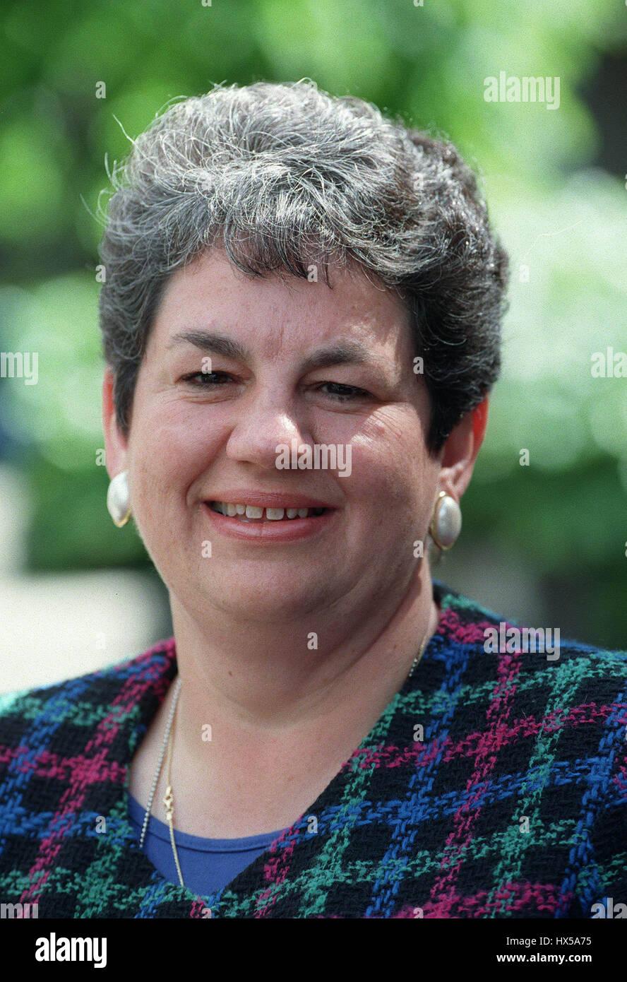 JACKIE BALLARD MP LIBERAL DEMOCRATS 07 May 1997 - Stock Image