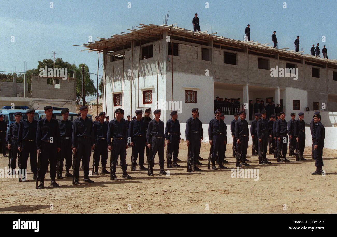 GAZA CIVILIAN POLICE HQ IN GAZA 29 March 1995 - Stock Image
