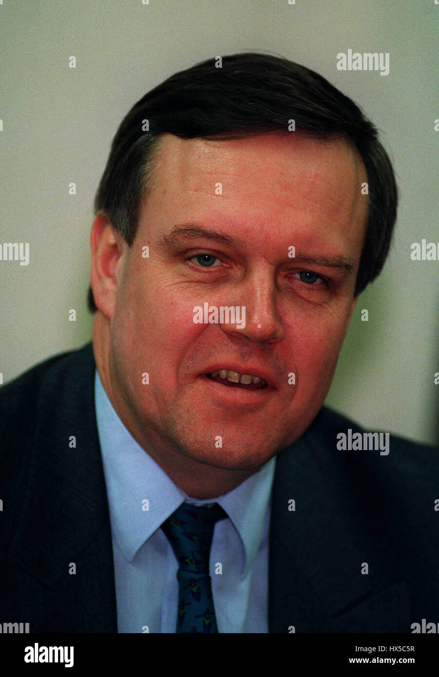 VOLKER RUEHE DEFENCE MINISTER OF GERMANY 15 December 1993 - Stock Image