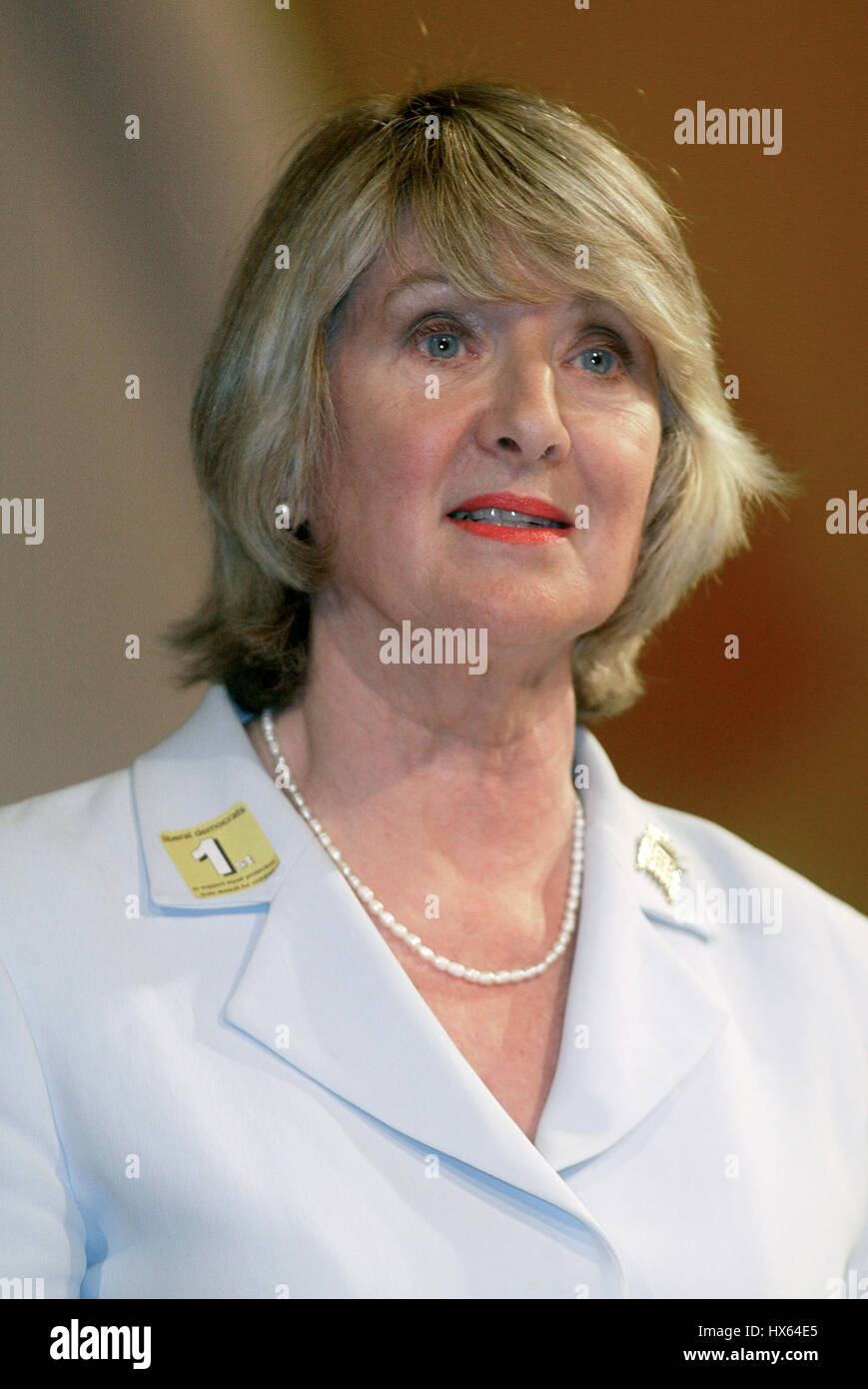 BARONESS WALMSLEY LIBERAL DEMOCRAT PARTY 24 September 2003 BRIGHTON ENGLAND - Stock Image