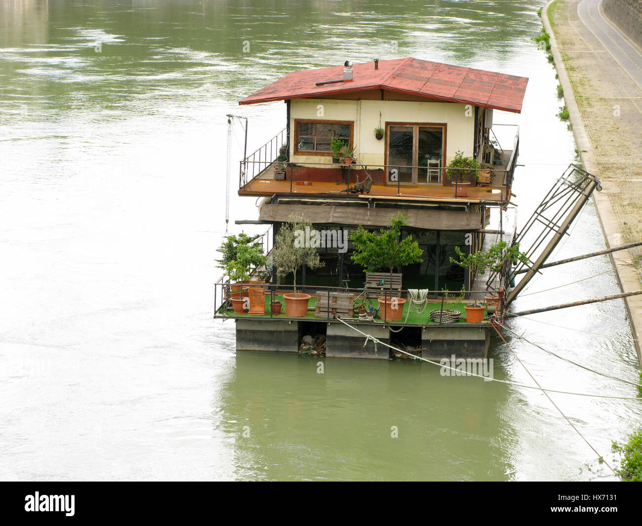 Tevere house - Stock Image