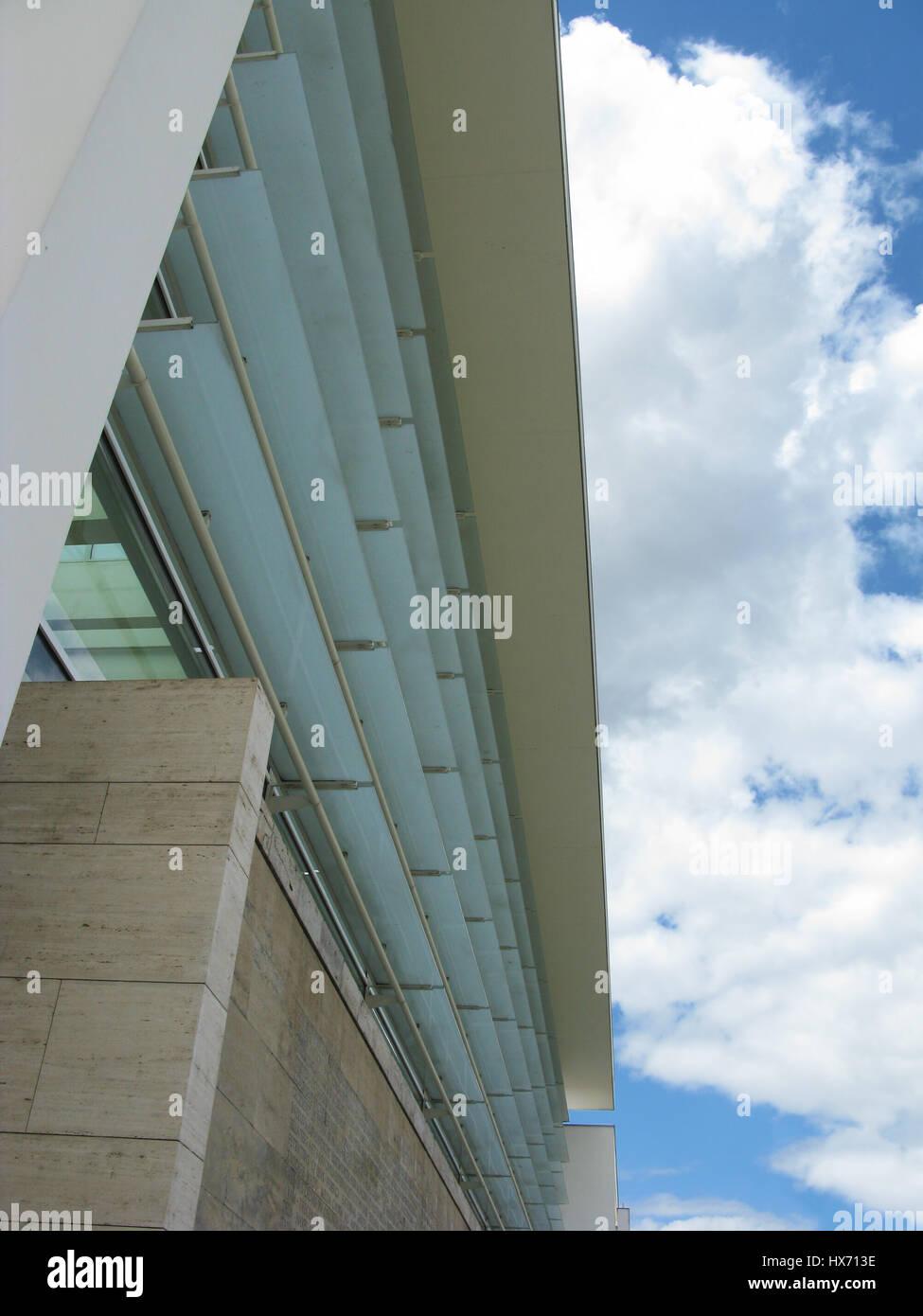 American architecture in Rome Stock Photo