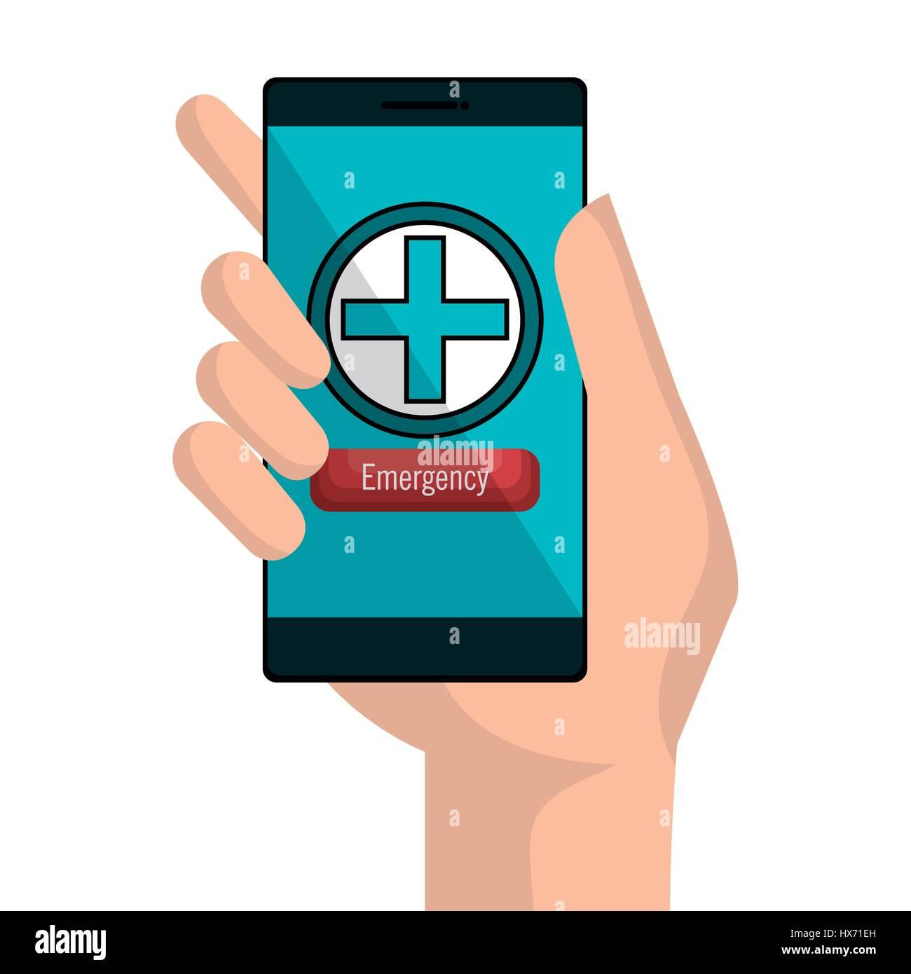medicine online flat icons Stock Vector