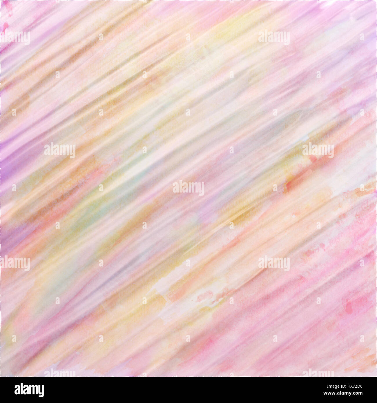Digital Watercolor Background Paint In Pretty Soft Pastel Colors