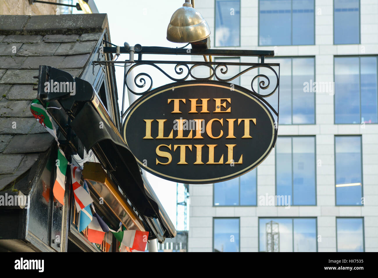 The Illicit Still, guestrow, Aberdeen, Scotland, UK - Stock Image