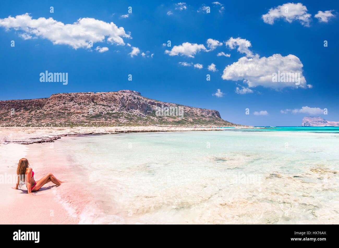 Balos Beach Crete Island