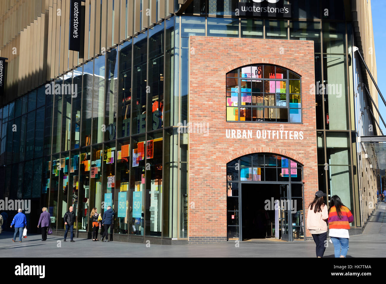 Urban wear clothing store