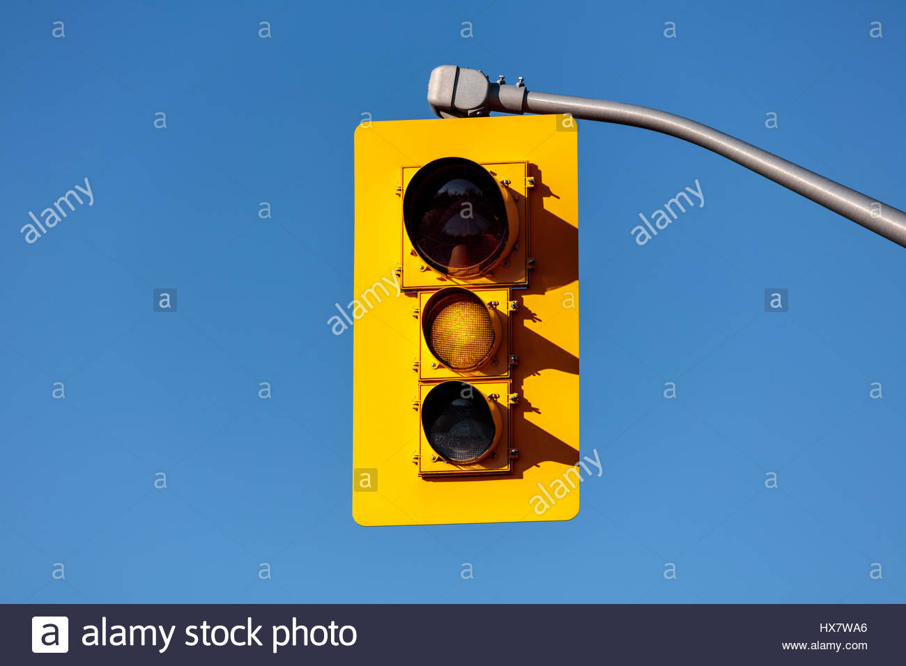 traffic lights, showing yellow, yellow, traffic signals, traffic lamps, signal lights, traffic control signals, Stock Photo