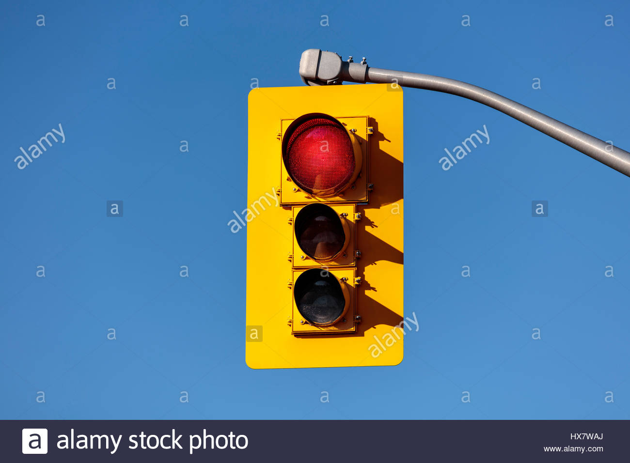 traffic lights, showing red, red, traffic signals, traffic lamps, signal lights, traffic control signals, the signal - Stock Image