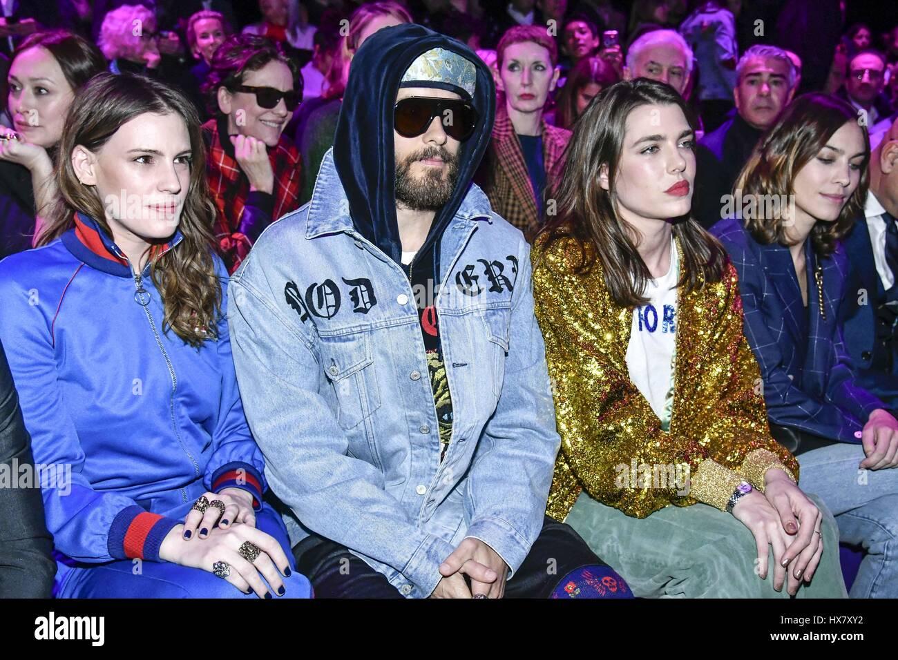 Jared Leto Fashion Show