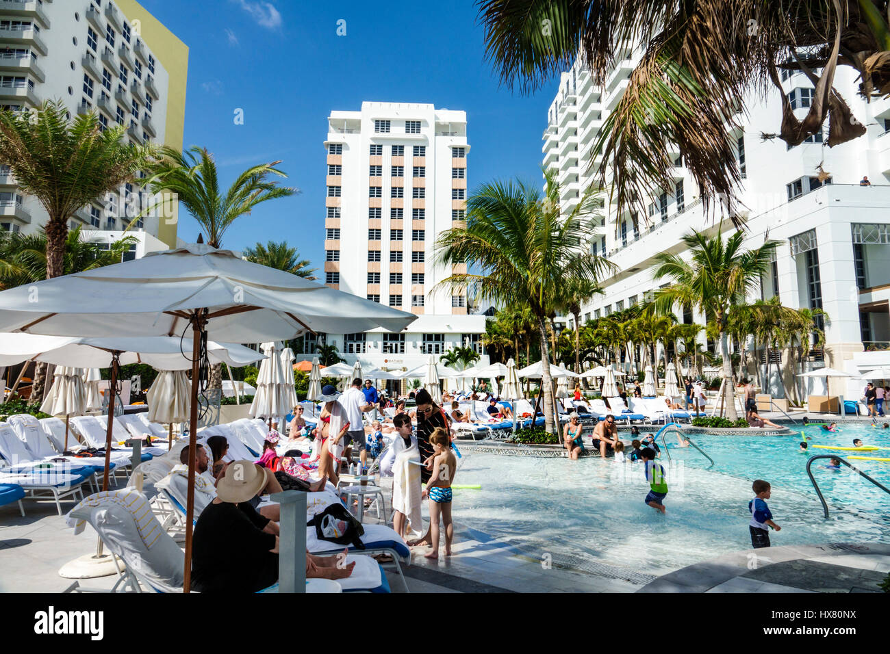 Miami Beach Florida Loews Miami Beach Hotel St Moritz Hotel