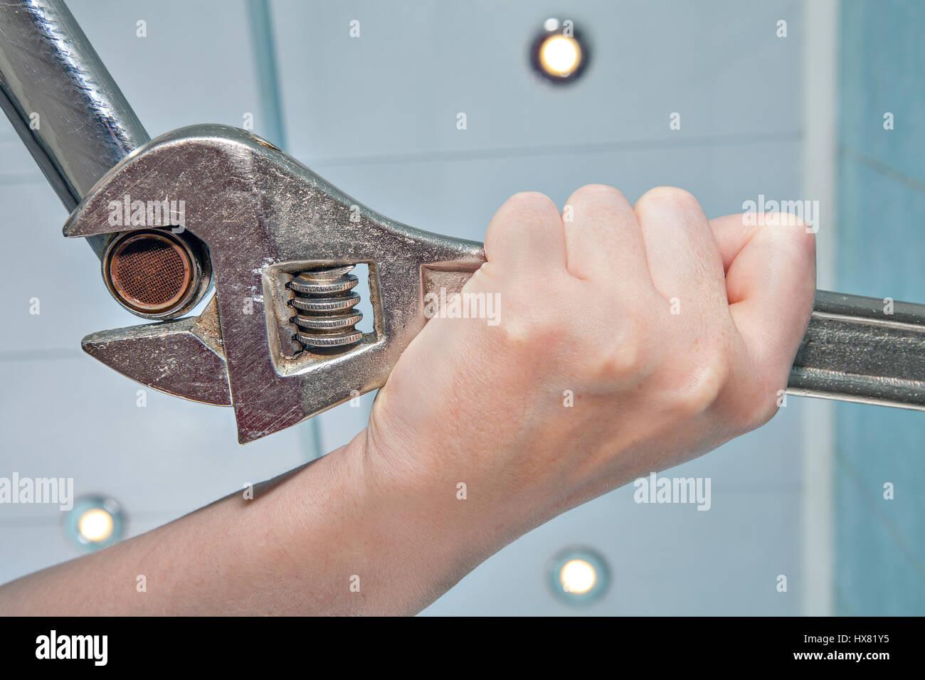 Clogged Faucet Stock Photos & Clogged Faucet Stock Images - Alamy