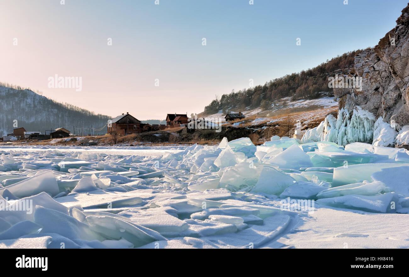 Lake Baikal is located near Irkutsk 26