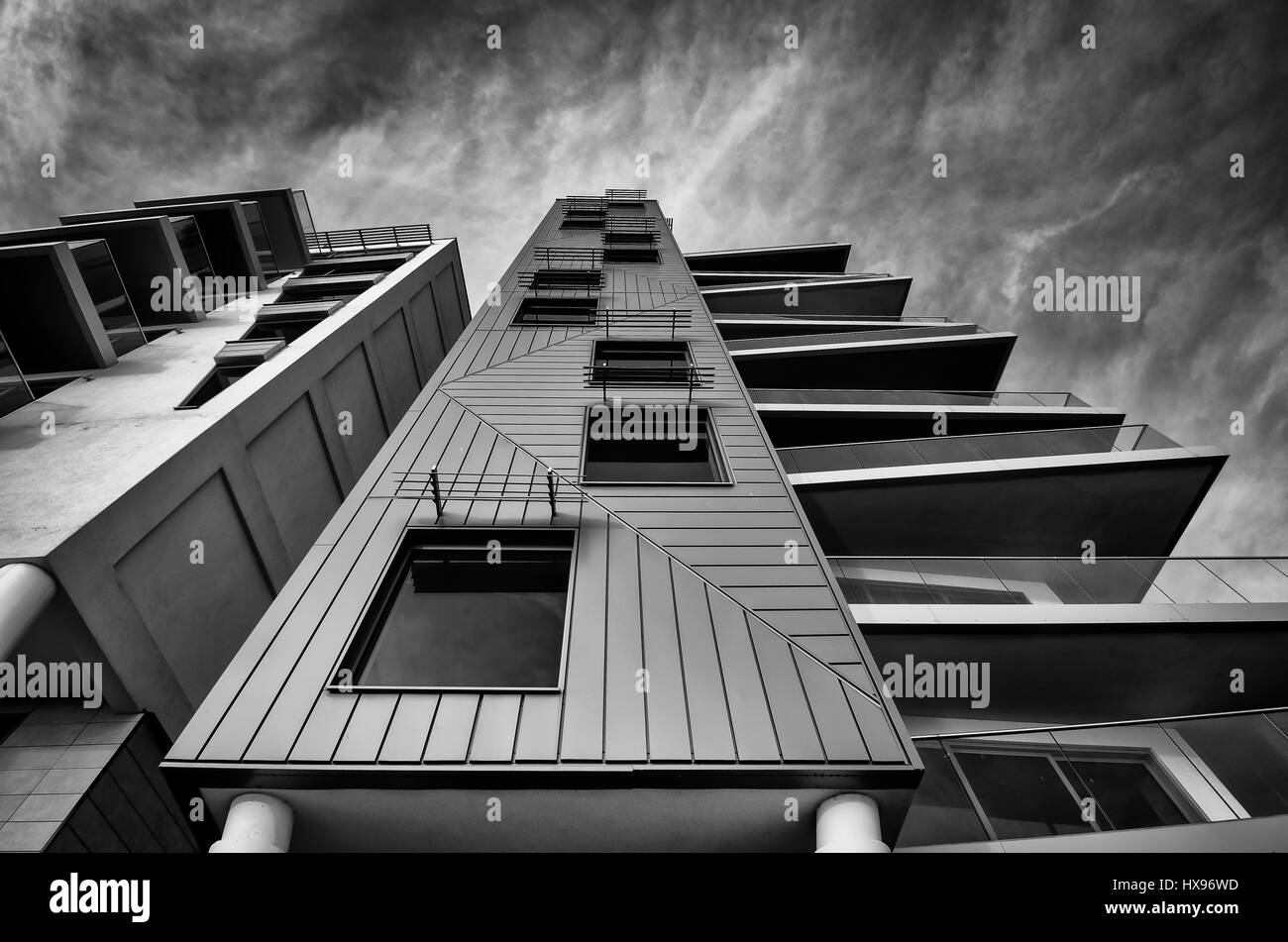 Nirvana Apartments. Southend on sea Stock Photo