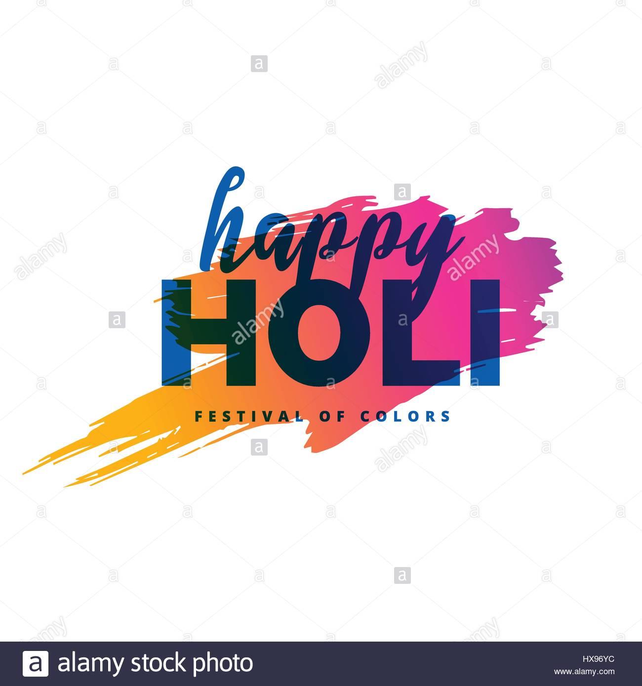 happy holi background with color splash stock vector art
