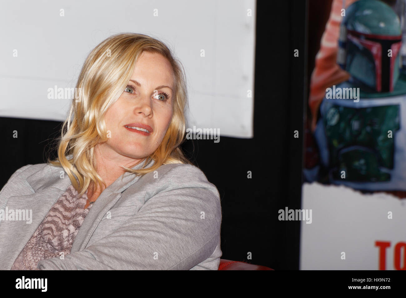 Paris, France, 25th March 2017. Catherine Sutherland, actress (Mighty Morphin Power Rangers) attends the 23rd édition Stock Photo