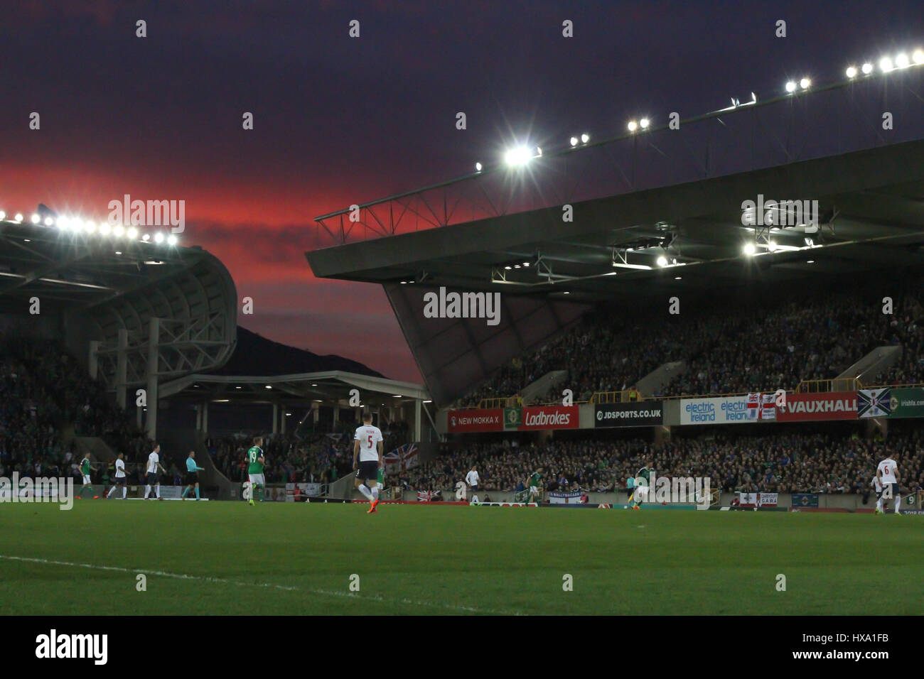 National Football Stadium at Windsor Park, Belfast, UK. 26 ...
