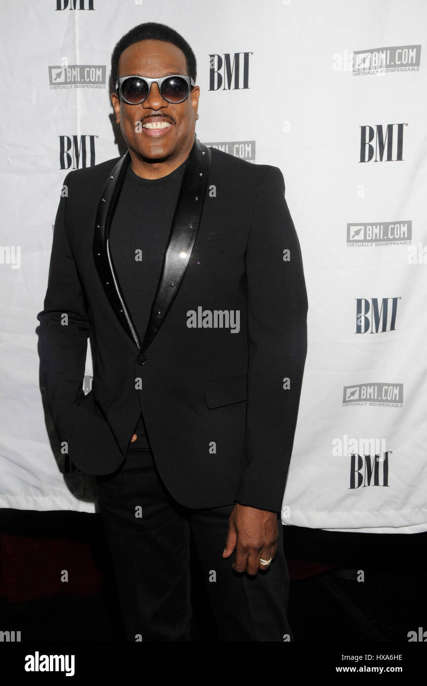 Charlie Wilson attends the 2014 BMI 'How I Wrote That Song' panel at the House of Blues Sunset on January - Stock Image