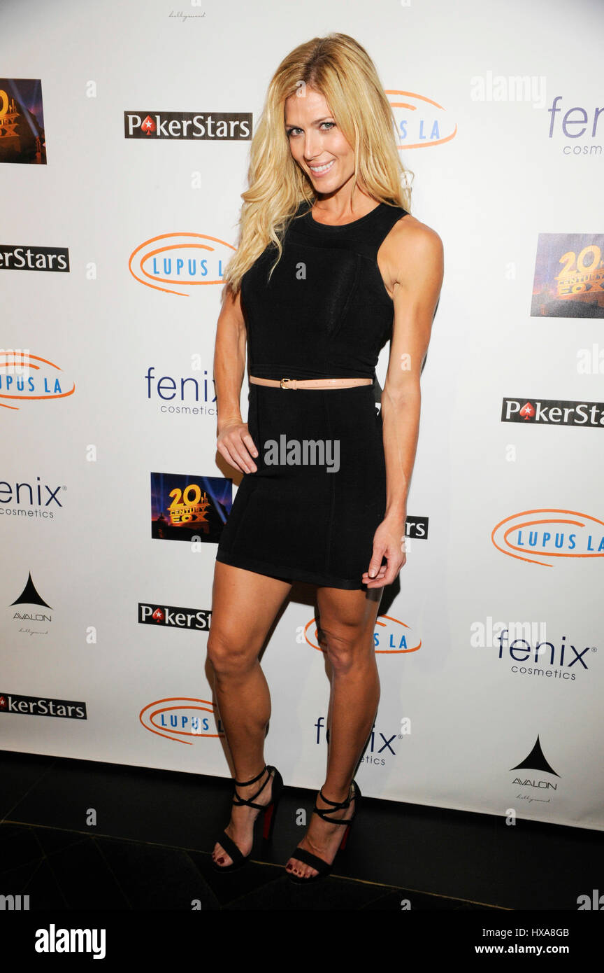 Torrie Wilson Attends The Stars Get Lucky For Lupus 6th Annual Poker Tournament At Avalon On September 18 2014 In Hollywood California