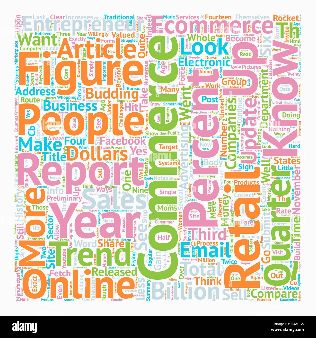 Ecommerce in 2007 and Beyond text background wordcloud concept - Stock Vector