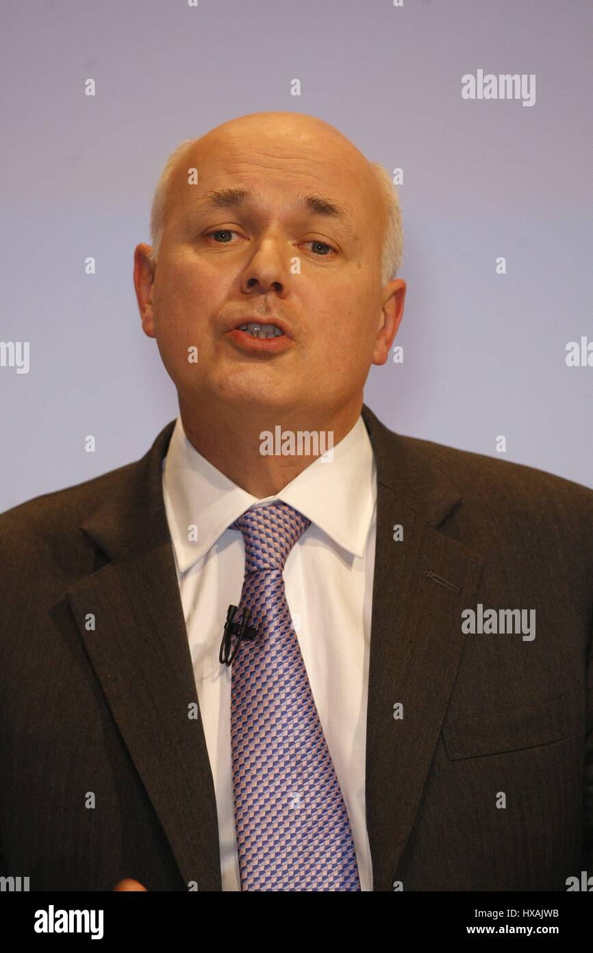 IAIN DUNCAN SMITH MP CHAIRMAN SOCIAL JUSTICE POLICY 02 October 2007 ...