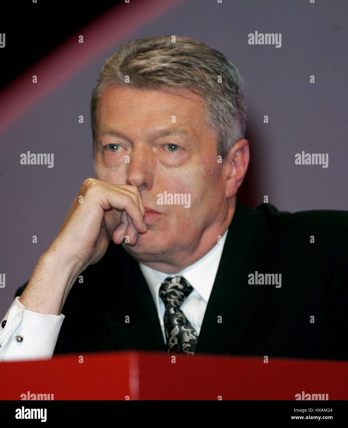 ALAN JOHNSON MP SEC OF STATE FOR EDUCATION 27 September 2006 MANCHESTER ENGLAND - Stock Image
