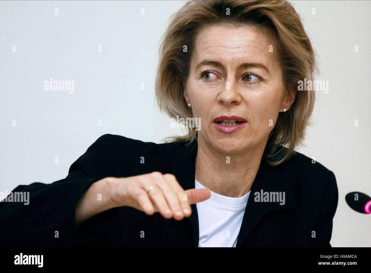 URSULA VON DER LEYEN GERMAN POLITICIAN & MINISTER 11 November 2008 - Stock Image