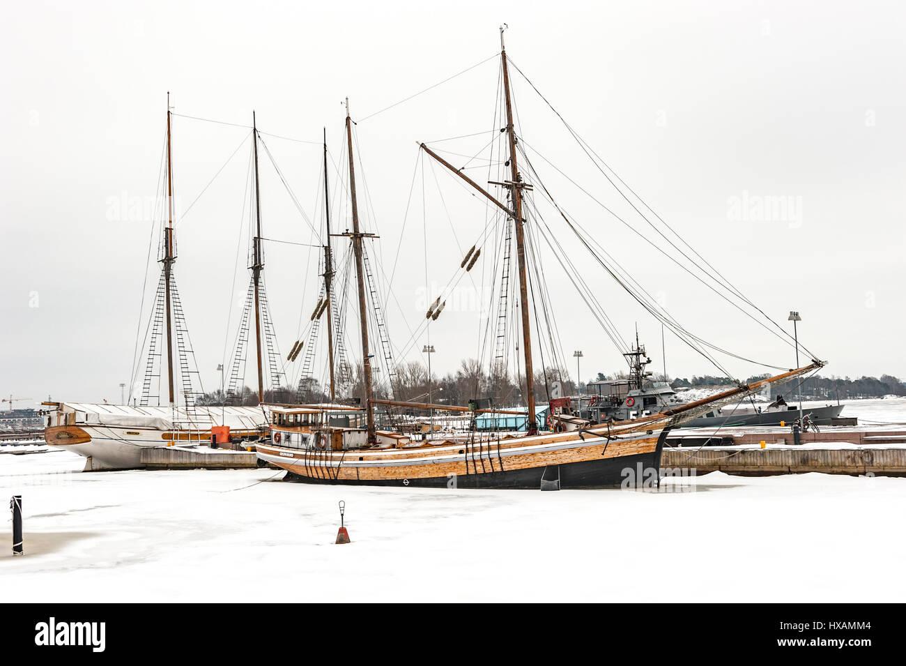 Helsinki Harbour - Stock Image