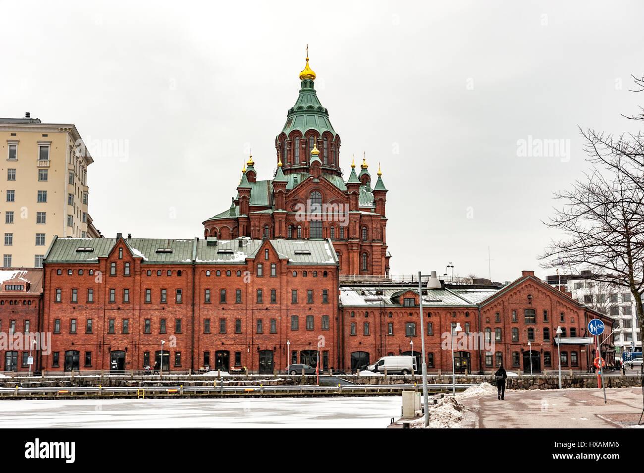 Uspenskij Cathedral, Helsinki - Stock Image
