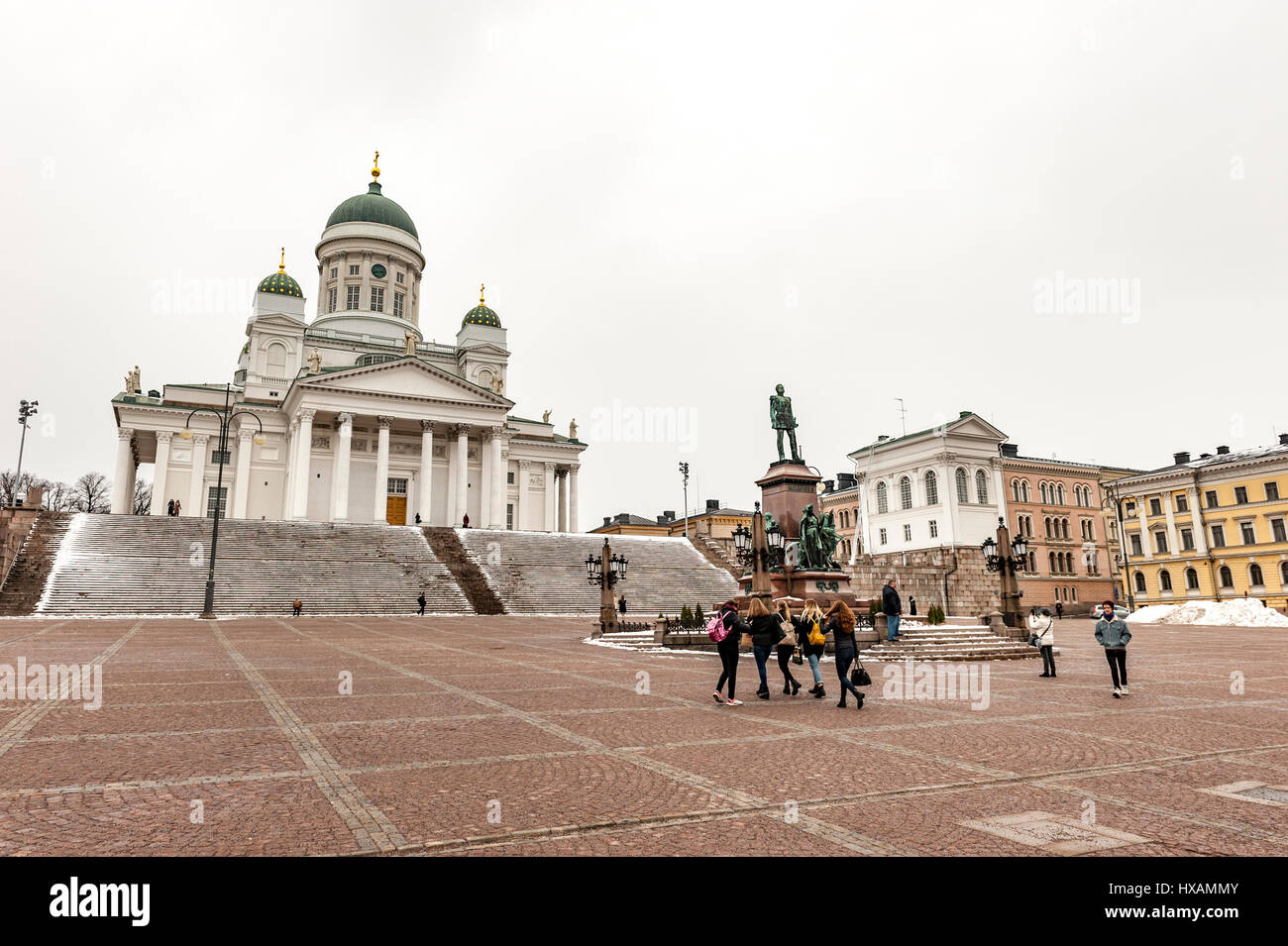 Lutheran Cathedral, Helsinki - Stock Image