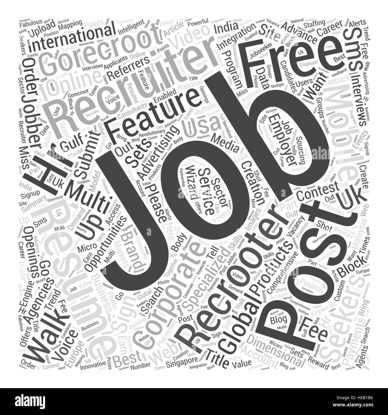 GoRecroot International Jobs Recruiters Post Free Job