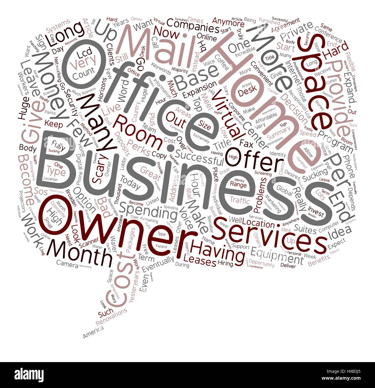 Home Base Business text background wordcloud concept Stock Vector ...