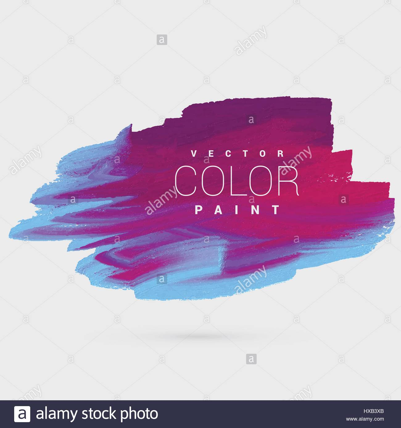 Colorful Ink Paint Background Template Vector Design