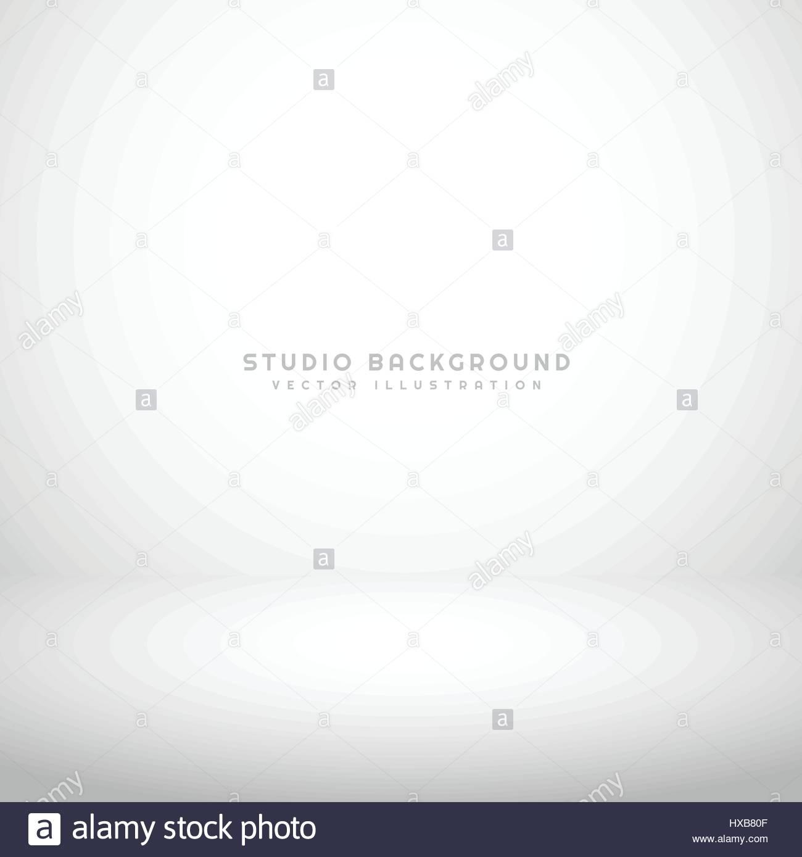 empty white studio background - Stock Vector