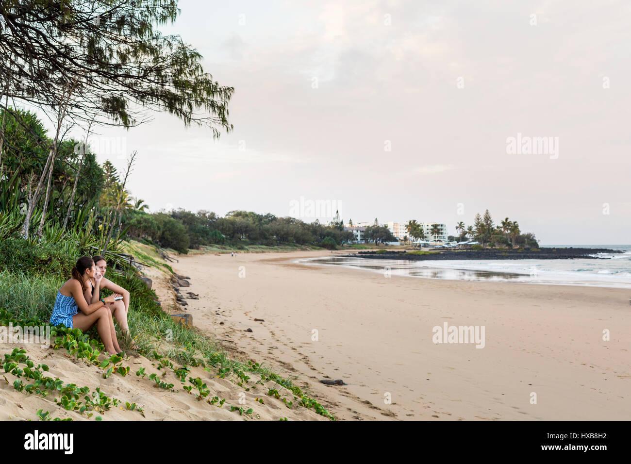 beach girls Queensland