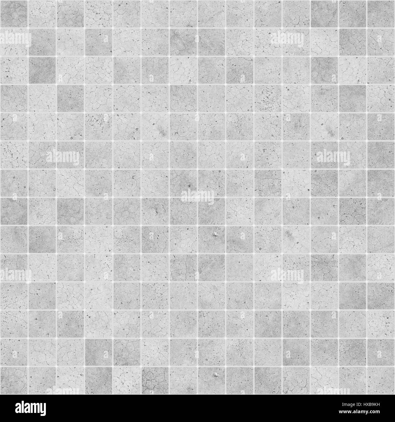 Concrete Mosaic Tile Seamless Texture Stock Photo