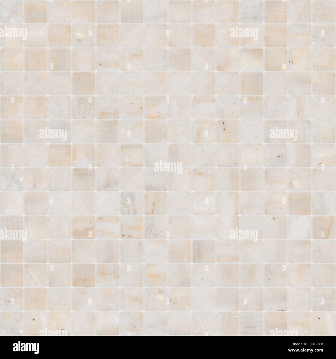 Yellow White Mosaic Marble Tile Texture Seamless Stock Photo Alamy