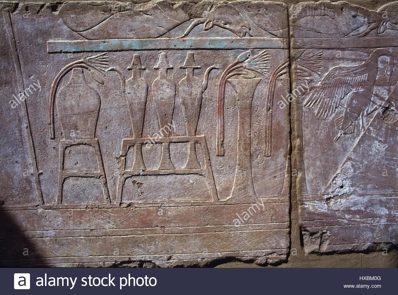 Egyptian offering stock photos