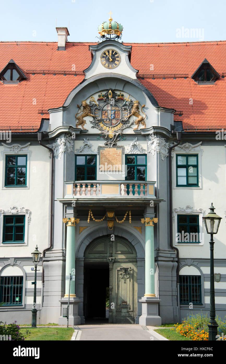 Fronhof in Augsburg - Stock Image