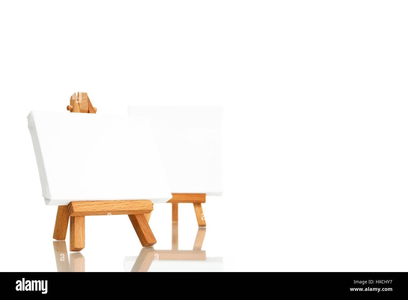 Easel, Staffelei - Stock Image