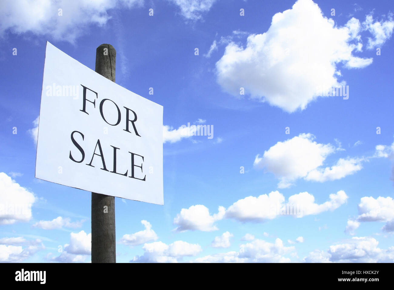 Heaven for sale - Stock Image