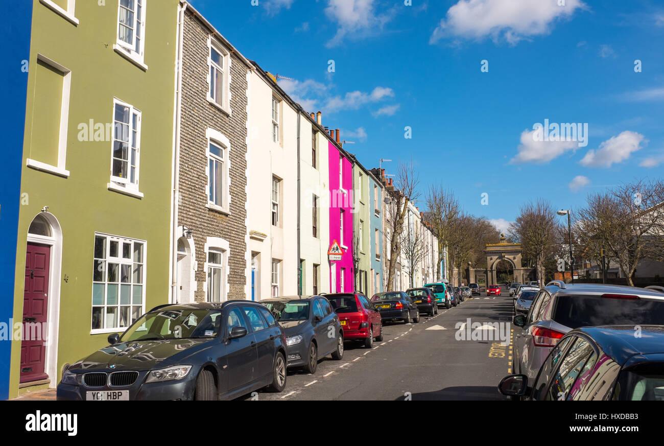 in Brighton UK - Stock Image