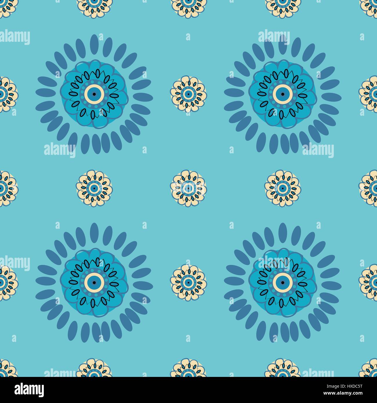Ethnic Colorful pattern backgrounds. - Stock Vector