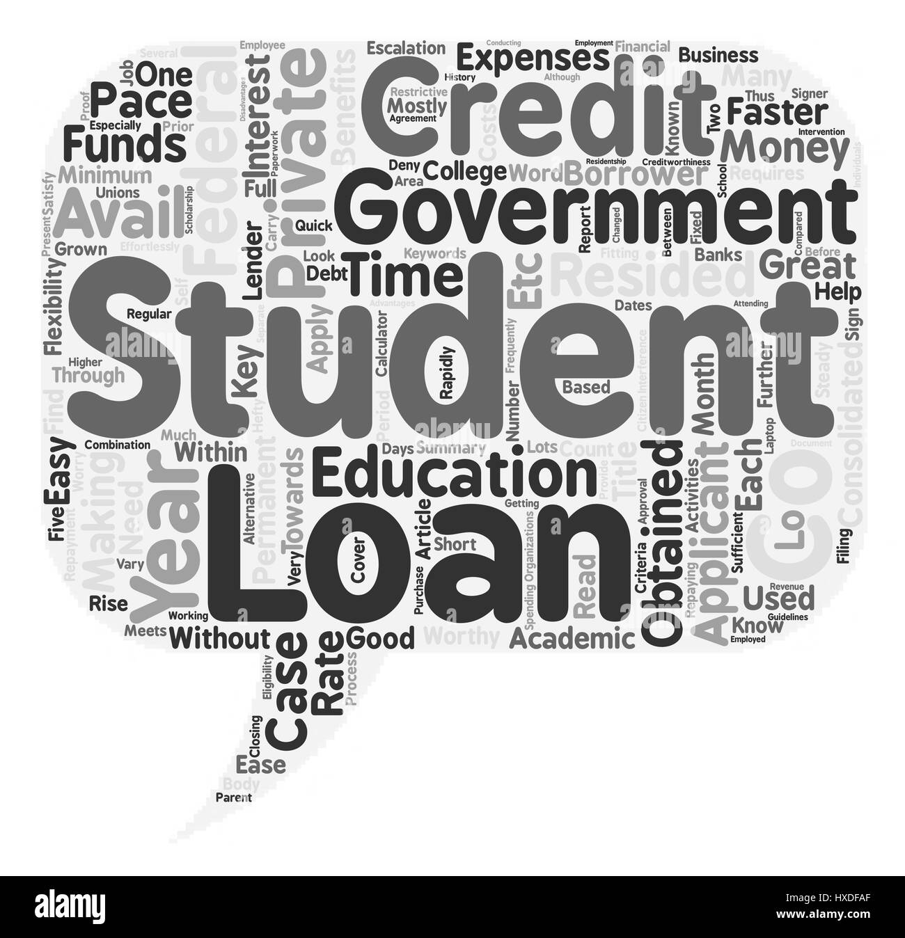 Private Student Loans >> Key Benefits Of Private Student Loans Text Background