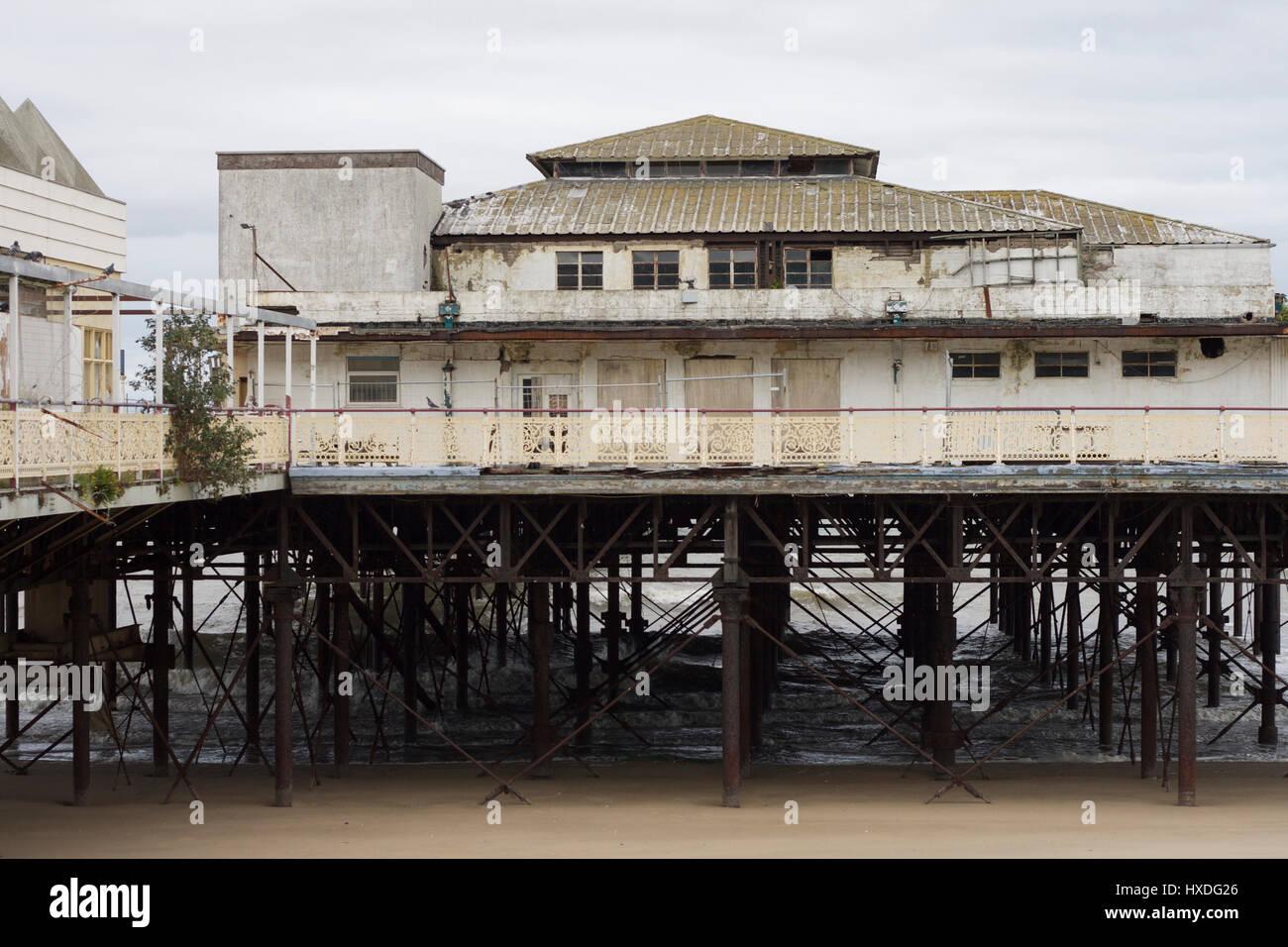 Colwyn Bay Pier - Stock Image