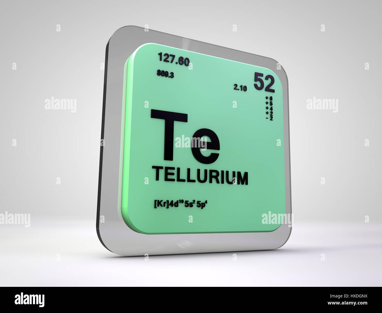 Tellurium te chemical element periodic table 3d render stock tellurium te chemical element periodic table 3d render urtaz Image collections