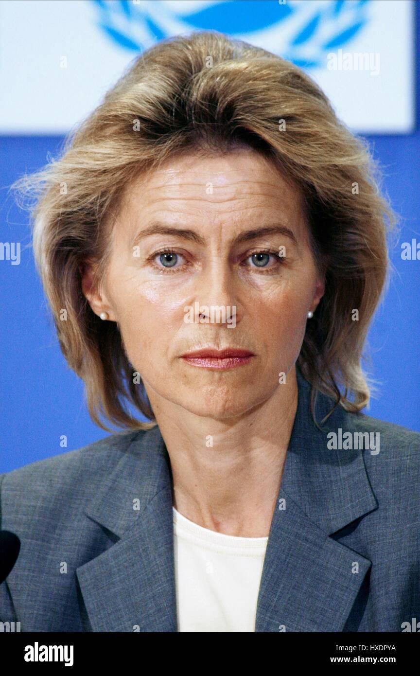 URSULA VON DER LEYEN GERMAN POLITICIAN & MINISTER 02 June 2009 - Stock Image