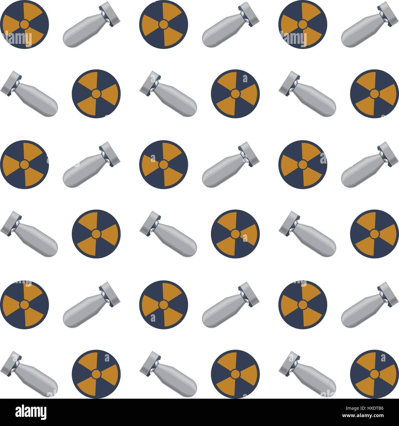 Nuclear bomb weapon - Stock Image