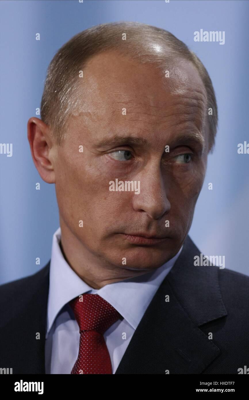 VLADIMIR PUTIN PRESIDENT OF RUSSIA 16 January 2009 - Stock Image