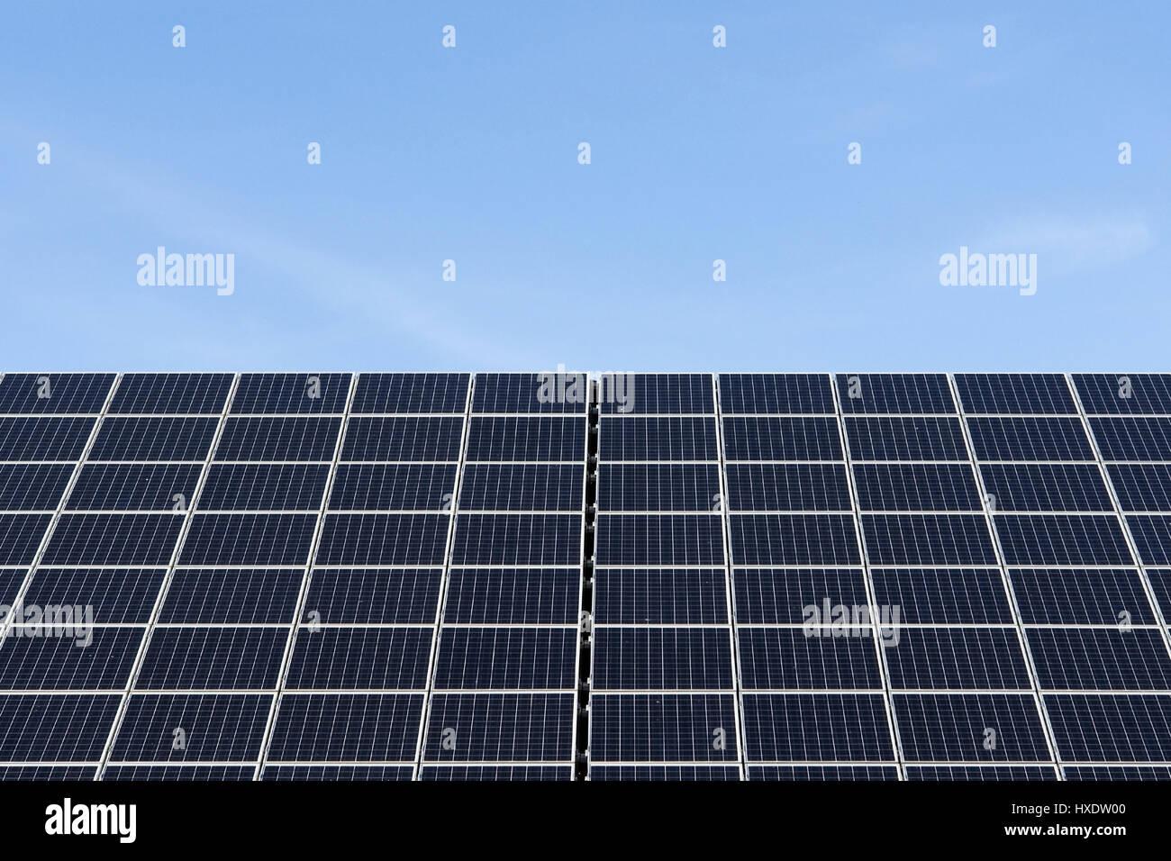 Solar cells, Solar cells |, Solarzellen |Solar cells| - Stock Image